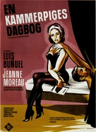 Le journal d'une femme de chambre - Danish Movie Poster (xs thumbnail)