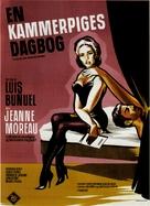 Le journal d'une femme de chambre - Danish Movie Poster (xs thumbnail)