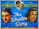 The Stratton Story - British Theatrical poster (xs thumbnail)