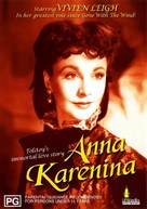 Anna Karenina - Australian DVD cover (xs thumbnail)