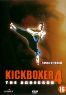 Kickboxer 4: The Aggressor - Dutch DVD movie cover (xs thumbnail)