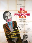 Ne nous fâchons pas - French Movie Poster (xs thumbnail)