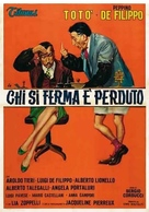 Chi si ferma è perduto - Italian Movie Poster (xs thumbnail)