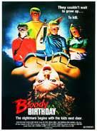 Bloody Birthday - Movie Poster (xs thumbnail)