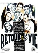 Retour à la vie - French Movie Poster (xs thumbnail)