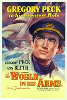 The World in His Arms - British Movie Poster (xs thumbnail)