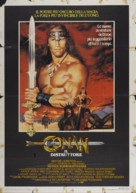 Conan The Destroyer - Italian Movie Poster (xs thumbnail)