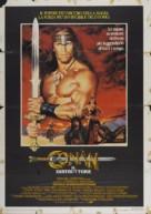 Conan The Destroyer - Italian Movie Poster (xs thumbnail)