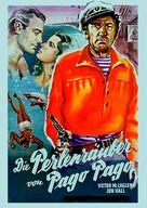 South of Pago Pago - German Movie Poster (xs thumbnail)