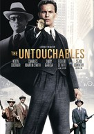 The Untouchables - DVD movie cover (xs thumbnail)