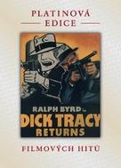 Dick Tracy Returns - Czech DVD movie cover (xs thumbnail)