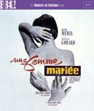 Une femme mariée: Suite de fragments d'un film tourné en 1964 - British Blu-Ray movie cover (xs thumbnail)