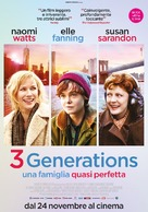 3 Generations - Italian Movie Poster (xs thumbnail)