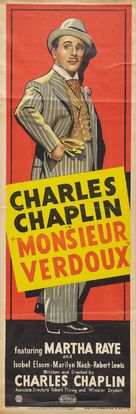 Monsieur Verdoux - British Movie Poster (xs thumbnail)