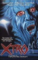 Xtro - Spanish VHS cover (xs thumbnail)