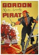 Gordon, il pirata nero - Danish Movie Poster (xs thumbnail)
