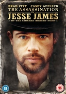 The Assassination of Jesse James by the Coward Robert Ford - British DVD cover (xs thumbnail)