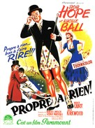 Fancy Pants - French Movie Poster (xs thumbnail)