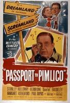 Passport to Pimlico - British Movie Poster (xs thumbnail)