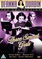 Three Smart Girls - British DVD movie cover (xs thumbnail)