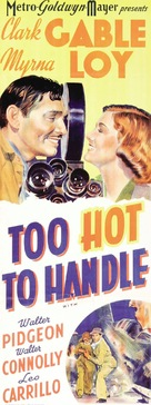 Too Hot to Handle - Movie Poster (xs thumbnail)