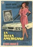 La belle Américaine - Spanish Movie Poster (xs thumbnail)