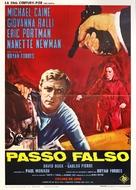 Deadfall - Italian Movie Poster (xs thumbnail)