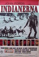 Cheyenne Autumn - Danish Movie Poster (xs thumbnail)