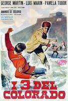I tre del Colorado - Spanish Movie Poster (xs thumbnail)