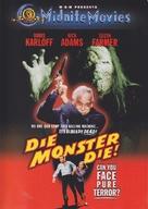 Die, Monster, Die! - DVD movie cover (xs thumbnail)