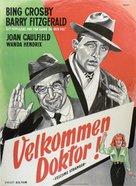 Welcome Stranger - Danish Movie Poster (xs thumbnail)