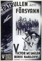 The Lost Patrol - Swedish Movie Poster (xs thumbnail)