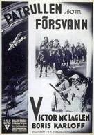 The Lost Patrol - Swedish Movie Poster (xs thumbnail)
