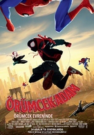 Spider-Man: Into the Spider-Verse - Turkish Movie Poster (xs thumbnail)