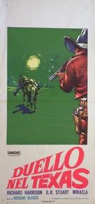 Duello nel Texas - Italian Movie Poster (xs thumbnail)