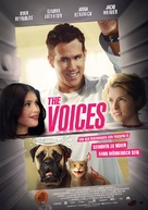 The Voices - German Movie Poster (xs thumbnail)