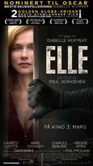 Elle - Norwegian Movie Poster (xs thumbnail)