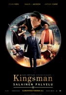 Kingsman: The Secret Service - Finnish Movie Poster (xs thumbnail)