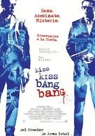Kiss Kiss Bang Bang - Spanish Movie Poster (xs thumbnail)