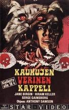 La morte negli occhi del gatto - Finnish VHS cover (xs thumbnail)