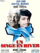 Un singe en hiver - French Movie Poster (xs thumbnail)