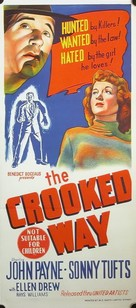 The Crooked Way - Australian Movie Poster (xs thumbnail)