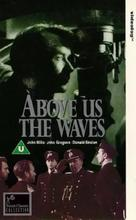 Above Us the Waves - British VHS movie cover (xs thumbnail)