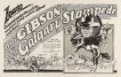 The Calgary Stampede - poster (xs thumbnail)