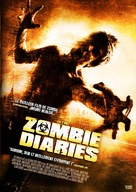 The Zombie Diaries - French Movie Cover (xs thumbnail)
