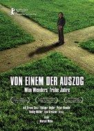Von einem der auszog - Wim Wenders' frühe Jahre - German Movie Poster (xs thumbnail)