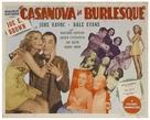 Casanova in Burlesque - Movie Poster (xs thumbnail)
