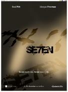 Se7en - German Movie Poster (xs thumbnail)