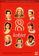 8 femmes - Polish DVD movie cover (xs thumbnail)