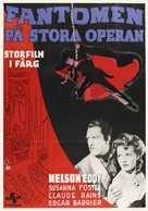 Phantom of the Opera - Swedish Movie Poster (xs thumbnail)